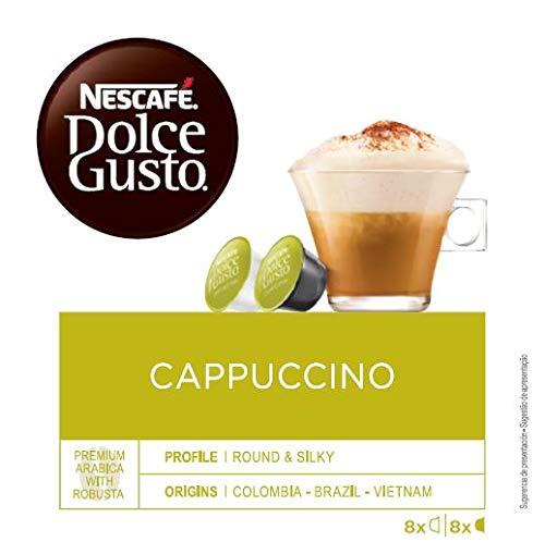 Nescafe Cappuccino voor Nescafe Dolce Gusto Machine Ref 12019905 [verpakt 48]