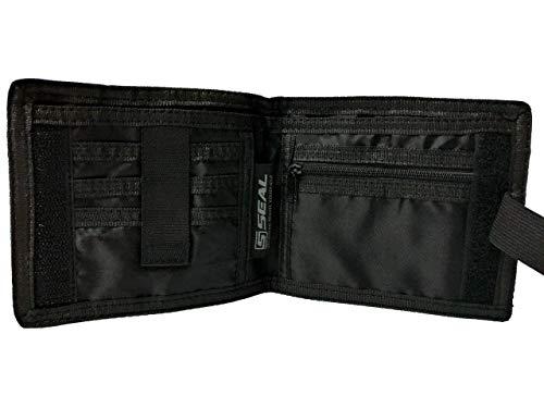 Seal® Travel Wallet - Reisegeldbeutel aus 100% Recyclematerial, RFID Schutz, Reisepassfach, Spritzwassergeschützt, Flexible Gürtelschlaufe zum versteckten Tragen auf der Hoseninnenseite