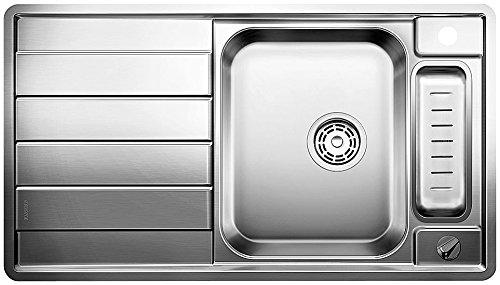 Blanco Axis II 5 S-IF Küchenspüle, Edelstahl Seidenglanz, 516528