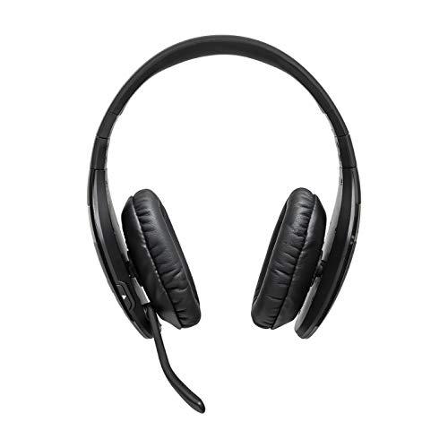 BlueParrott S450-XT Stereo Bluetooth Over-Ear Headset – 82 % Noise-Cancelling mit VoiceControl – Perfekt für unterwegs und in lärmintensiver Umgebung – Schwarz