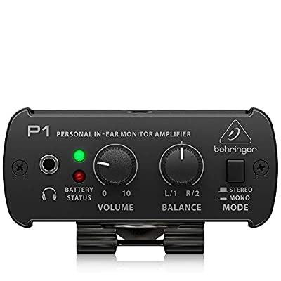 Behringer POWERPLAY P1 Personal In-Ear Monitor Amplifier from Behringer