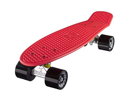 Ridge Skateboards Mini Cruiser Board Skateboard ,komplett, 55cm