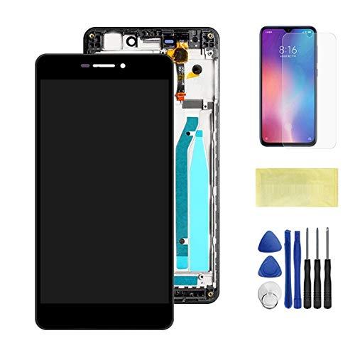 Pantallas LCD para teléfonos móviles 5.0 '' LCD Pantalla de Pantalla Reemplazo/Ajuste para Xiaomi Redmi 3 3S LCD Digiziter ASEEMPLY (Color : Black with Frame)