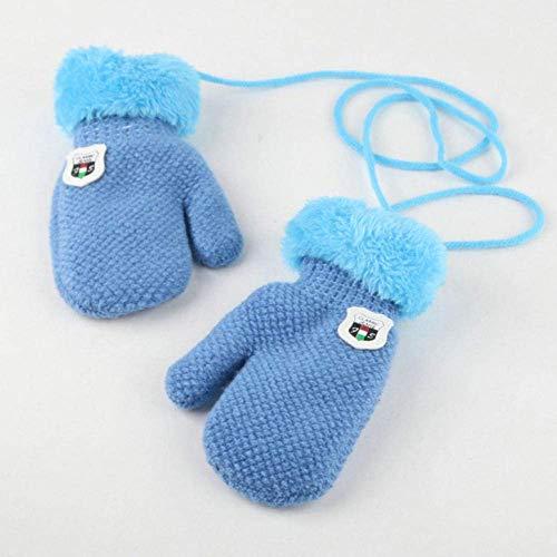 PXX Handschoenen Handschoenen Kinderen Kinderen Winter 2019 Houd Warm Breien Handschoenen voor Kinderen Verdikking Furring Gebreide Handschoenen