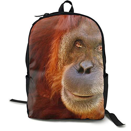 Leichter Rucksack, faltbar, ultraleicht, verstaubarer Rucksack, Affenmaulkorb, Haarfarbe, Unisex, langlebig, handlicher Tagesrucksack für Reisen und Outdoor-Sport