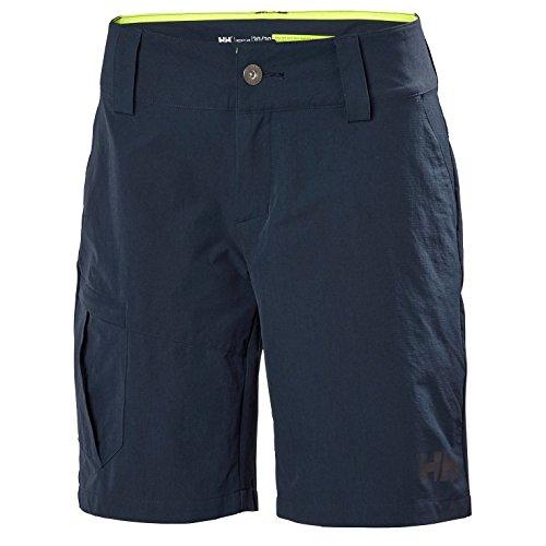 Helly Hansen W Qd Cargo Shorts Pantalones Deportivos, Hombre, Azul (Azul Navy 597),...