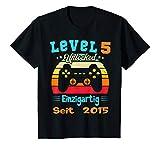 Kinder Gamer Geburtstag 5 Jahre Junge T-Shirt