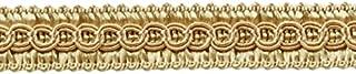 DÉCOPRO 13.5 Yards of 1/2 inch Basic Trim Decorative Gimp Braid, Style# 0050SG Color: Beige - A4, (41 Ft / 12.5 Meters)