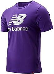 New Balance Camiseta Morado para Hombre - MT91546