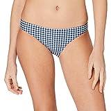 Seafolly Capri Check Hipster Bikini Slip, Blu (Indigo), 44 Donna