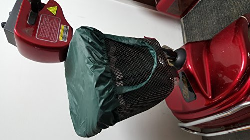 Mobility Scooter Waterproof Basket Bag and Cover, Top Quality Made in The UK. A Little More Money a lot More Quality!!