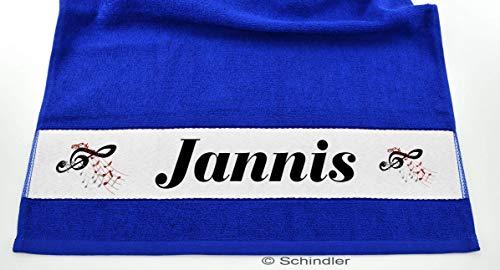 bedruckte Frottiere Handtücher oder Dusch/Badetücher - Motiv