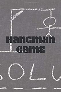 Hangman game - editable book with 100 pages - suitable for kids and adults - play with family or friends and become an exp...
