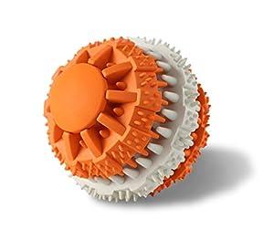 surblue Indestructible Non Toxique résistant dent de nettoyage Pet Balles jouet pour chien pour Pet formation/Jeu/à mâcher, idéal pour petit/moyen/grand chien couleurs variables