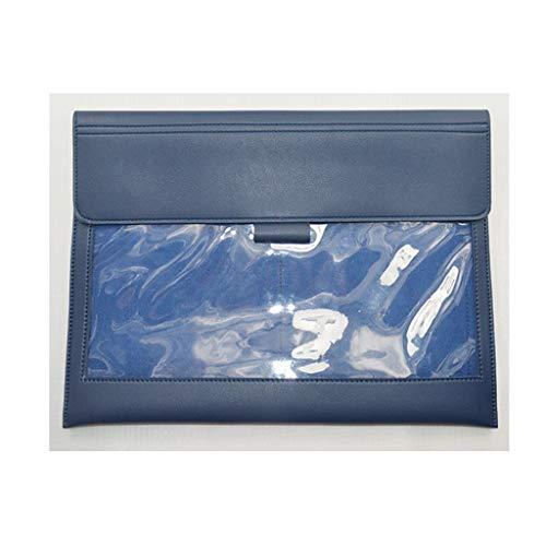 Tavoletta Portablocco File Borsa, Storage Folder Borsa di archiviazione for uffici File bagagli, forniture Cosmetici Ufficio accessorio da viaggio Bag-3 colori Clipboard Portablocco ( Color : A )