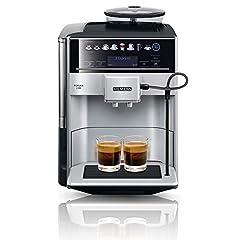 Siemens EQ.6 plus s300 KOFFIEmachine TE653501DE, opslagprofielen, stoomreiniging, dubbele cupfunctie, 1.500 watt, zilver*