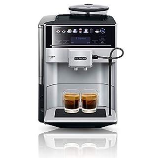 Siemens EQ.6 plus s300 Kaffeevollautomat TE653501DE, Speicherung Profile, Dampf-Reinigung, Doppeltassen-Funktion, 1.500 Watt, silber (B074QGDYVB) | Amazon price tracker / tracking, Amazon price history charts, Amazon price watches, Amazon price drop alerts