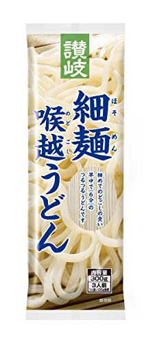 さぬきシセイ 讃岐細麺喉越うどん 300g×5袋