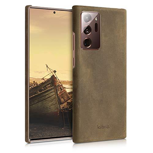 kalibri Custodia in Pelle Compatibile con Samsung Galaxy Note 20 Ultra - Custodia Back Cover Protettiva Case Posteriore
