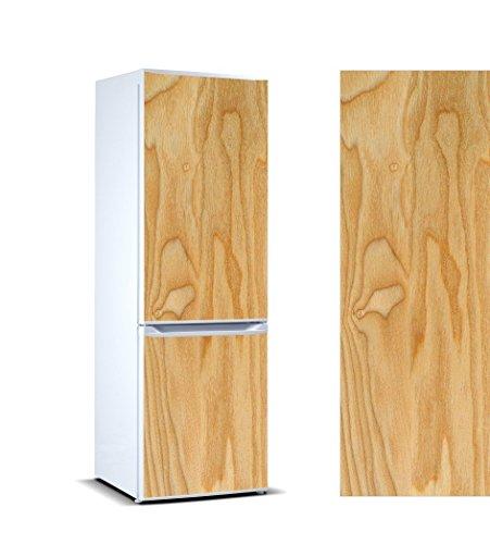 Pegatinas 3D Vinilo para Frigorífico Vetas Madera|Varias Medidas 185x70cm | Adhesivo Resistente y de Facil Aplicación | Pegatina Adhesiva Decorativa de Diseño Elegante|