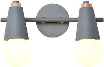 HLD Macaron Mirror Headlight Color moderne eenvoud Mirror Cabinet Light Wandlamp Mirror Light Badkamer LED Light Spiegella...