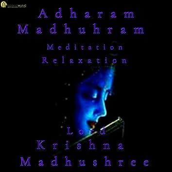 Adharam Madhuram in Meditation