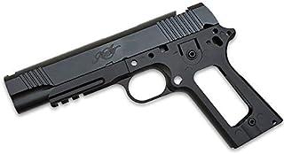 ガスブローバック M1911シリーズ対応 Kimber スタイル アルミスライド & メタルフレーム ARMY FORCE製 BK ブラック