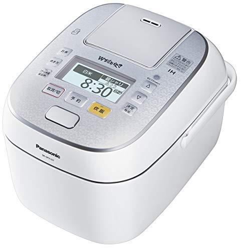 パナソニック 5.5合 炊飯器 圧力IH式 Wおどり炊き スノークリスタルホワイト SR-SPX107-W