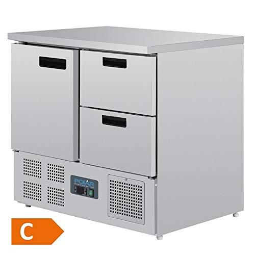 Polar Serie G Kühltisch(EEFK:C) 1-türig mit 2 Schubladen 240L