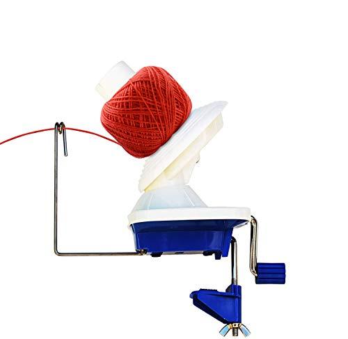 Windaze Yarn Ball Winder Portable Hand-Operated Manual Wool Winder Holder, Swift Yarn Fiber String Manual Holder 4-Ounce