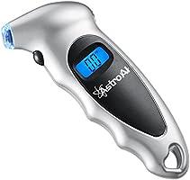 AstroAI Digital Tire Pressure Gauge, Tire Gauge, Air Pressure Gauge 150 PSI 4 Settings for Car Truck Bicycle with Backlit...