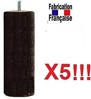diferentes tipos de fijaci/ón color natural Fixation Tige filet/ée plus large: M10 LONGUE Fixation TIGE M10 LONGUE Fijaci/ón de barra M10 corta Juego de 4/patas de 35/cm