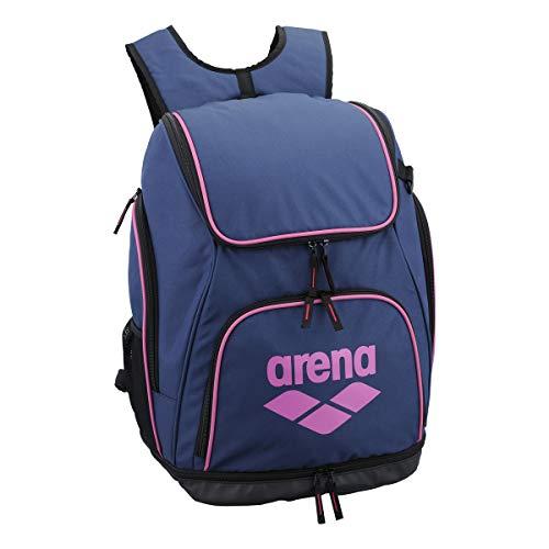 arena(アリーナ) プールバッグ 水泳用 リュック AEANJA01 ネイビー × ピンク F