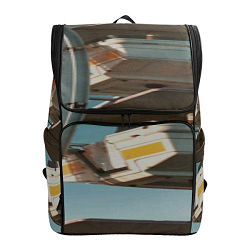 Old Photos Of Ferris Wheel Design School Bags Girls Backpack Kids Bag School Youth Travel Bag Fits 15.6 Inch Laptop And Notebook Best School Bags Male Travel Bag