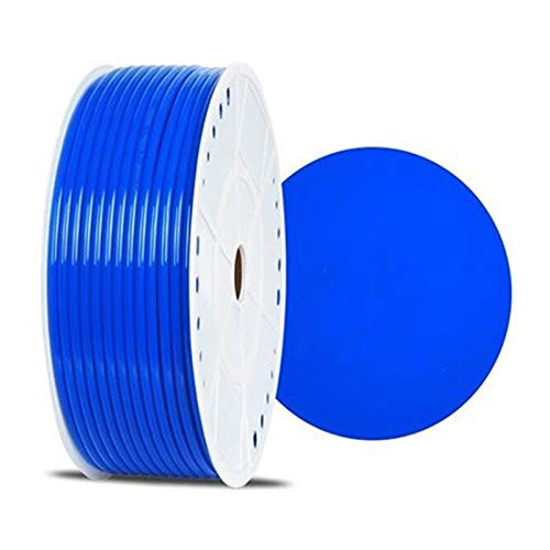 1 Meter OD 4mm 6mm 8mm 10mm 12mm PU Pneumatische Buizen, Slangen Air Compressor Tube (Color : Blue, Size : ID 4mm x OD 6mm)