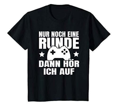 Kinder Nur Noch Eine Runde Kinder Spruch T-Shirt