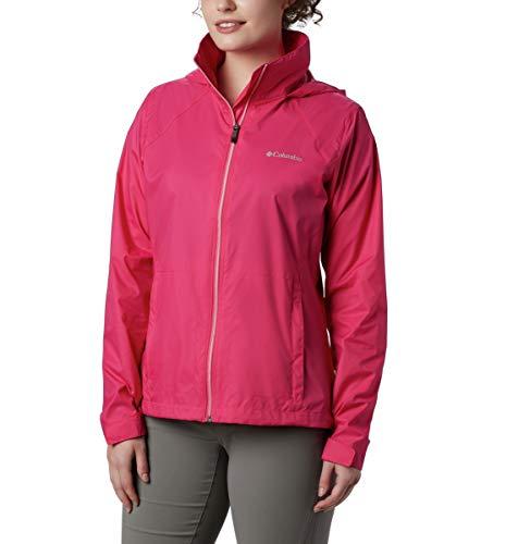 professional Columbia Women's Switchback III Adjustable Waterproof Waterproof Jacket Cactus Pink Small Size