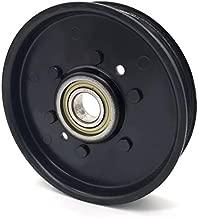 Phoenix Mfg. 4 Inch Flat Dia Flat Idler Pulley Replacement for John Deere AM37249