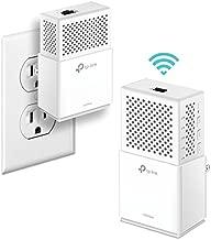 TP-Link AV1000 Powerline WiFi Extender(TL-WPA7510 KIT)- Powerline Adapter with Dual Band WiFi, Gigabit Port, Plug&Play, Power Saving, Ideal for Smart TV, Online Gaming