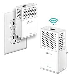 cheap TP-Link AC750 Power Line Gigabit WiFi Kit 2 Kit (AV1000) (AC750)