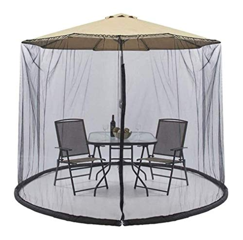 LYYJIAJU Outdoor Mosquito Net Tent Mosquito Net Cover Mesh Enclosure Cover for Patio Deck Furniture With Zipper