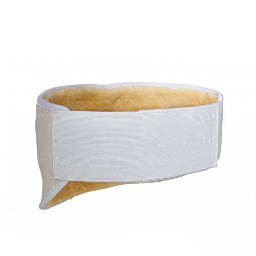 Öko Nierengurt (L) für 100-130 cm Umfang - Flexigurt Lammfell Nierengurt Fellgurt Nierenschutz Nierenwärmer