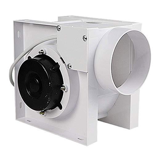 LXZDZ extractor de aire - ventilador de escape volumen grande de viento de gran alcance de silencio cocina del hotel extractor de aire