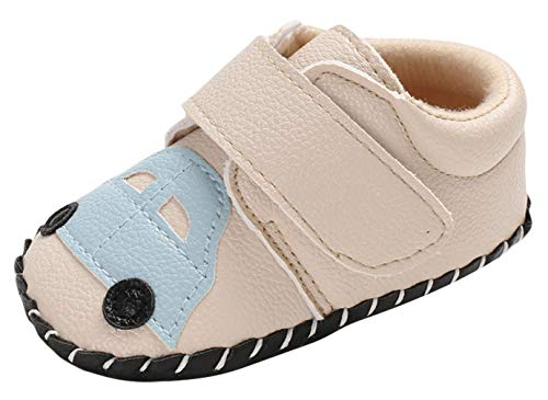 DEMU zacht lederen loopschoenen kruipschoenen babyschoenen turnschoen sneakers Innelänge 12cm beige