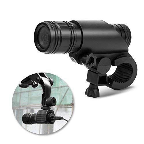 Zerone MC28 Digital Camcorder, Bike Motorrad Helm Videokamera Wasserdicht 8MP 720 P Digital Video Recorder mit Mount Kit 120 Grad Sport Kamera für Klettern Reiten
