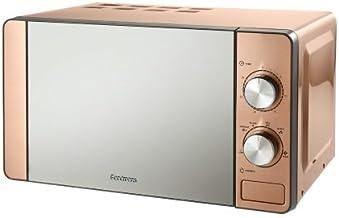 Goodmans 700W 6 ajustes de calor cobre microondas acero inoxidable