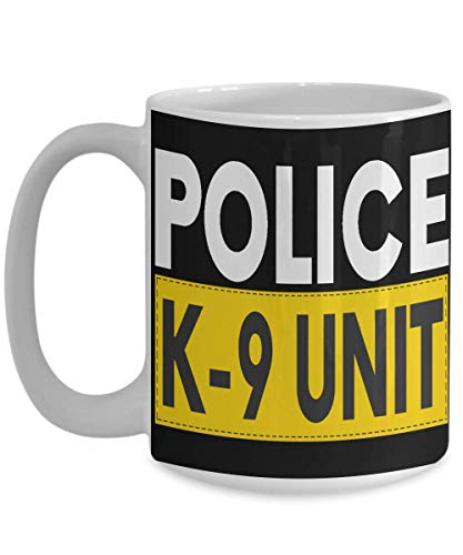 Police K-9 Unit Coffee Mug Gift for Police Live PD Cop Fan Best Friend Family Coworker Boss on Birthday Retirement Christmas 11oz or BIG Ceramic Tea C