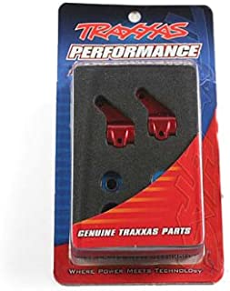 Traxxas 3636X Red-Anodized 6061-T6 Aluminum Steering Blocks (pair)