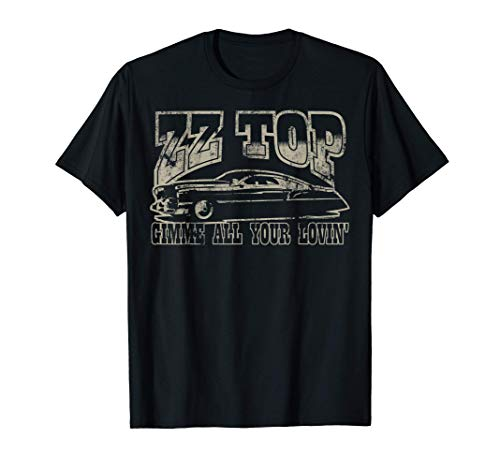ZZ Top Gimme All Your Lovin' T-Shirt, S to 3XL