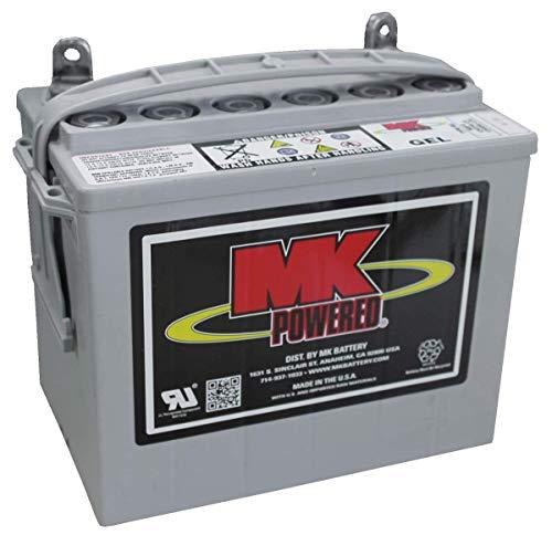 MK Gel-Akku für Elektromobil und Elektrostuhl, 12 V, 31 Ah